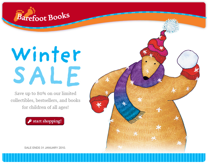 Barefoot Books Winter Sale