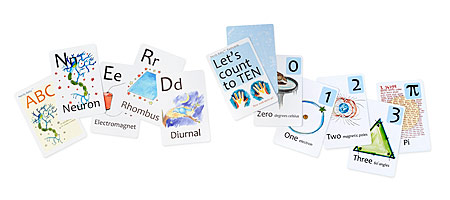 Nerd baby flash cards