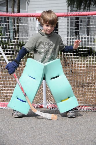Home Made Goalie Pads