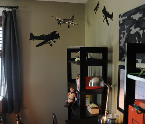Aiplane wall decals