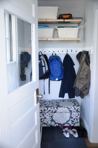 Mudroom Make Over