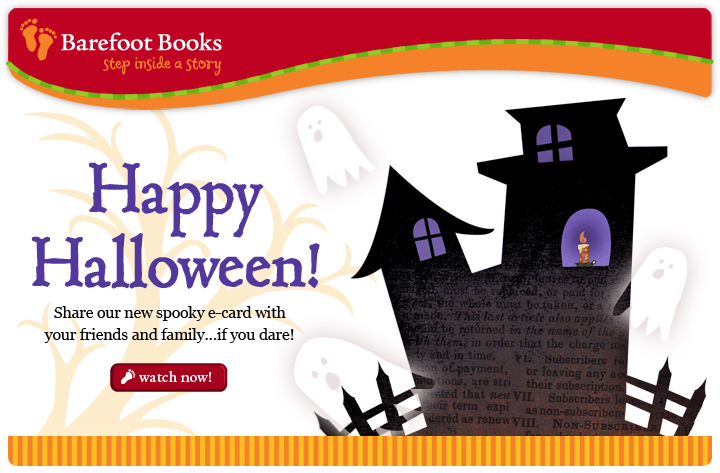 Barefoot Books Halloween E-card
