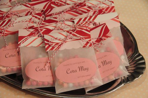 christmas candy party favor