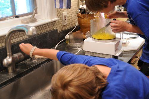 Grating soap