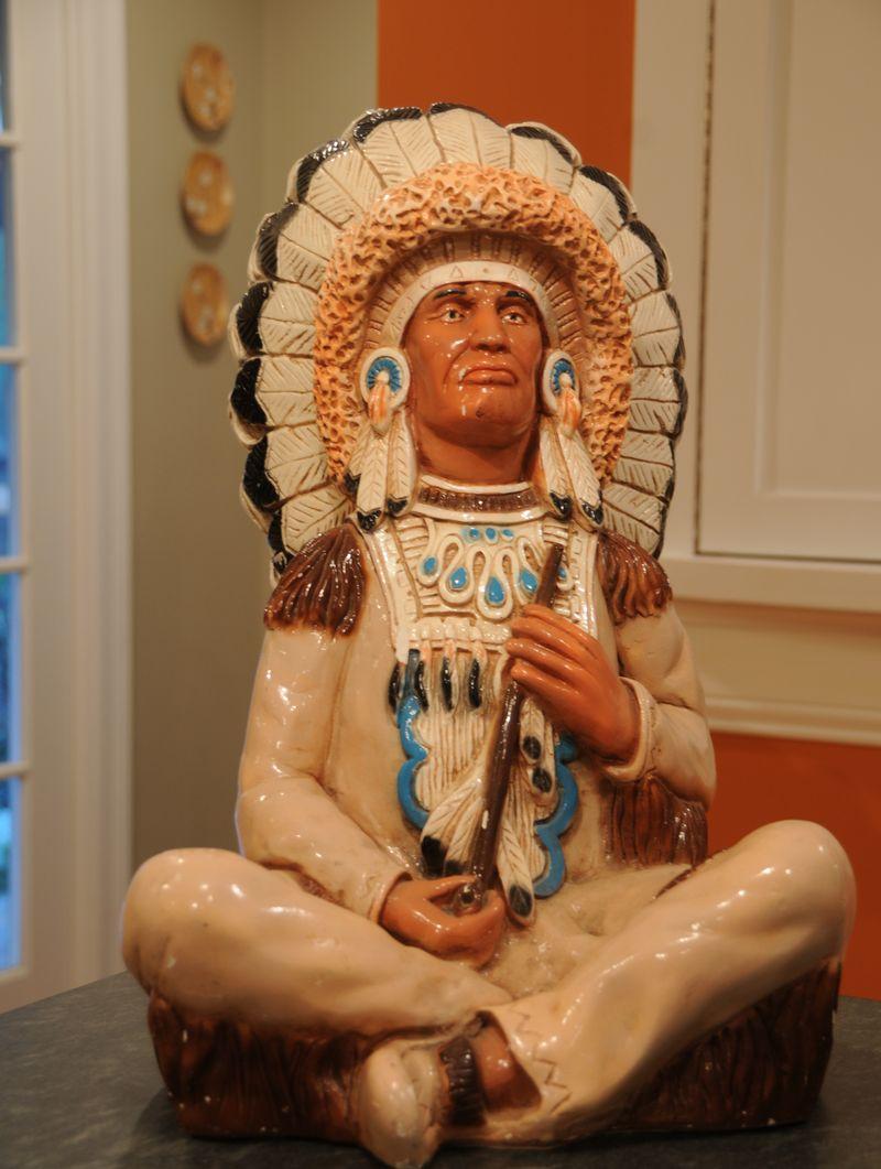 vintage indian statue