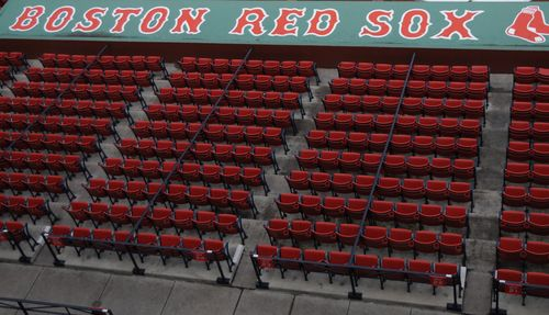 Empty seats at fenway