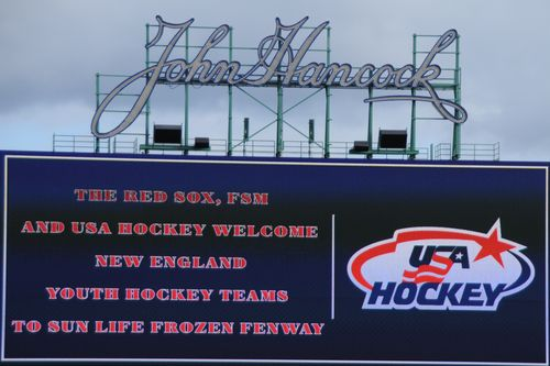Usa hockey sign