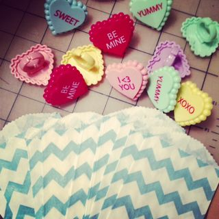Chevron treat bag